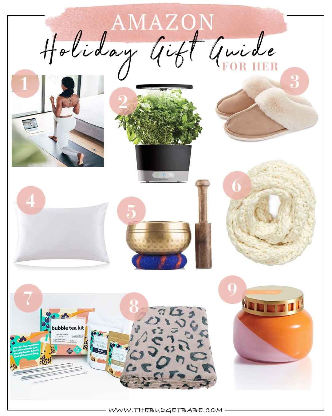 Amazon Gift Guide for Her Holiday Edition