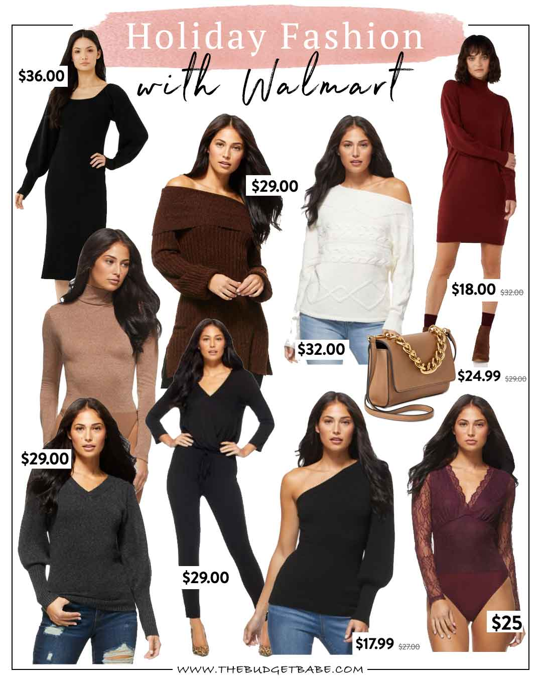 Holiday outfit ideas with Walmart Fashion 2020