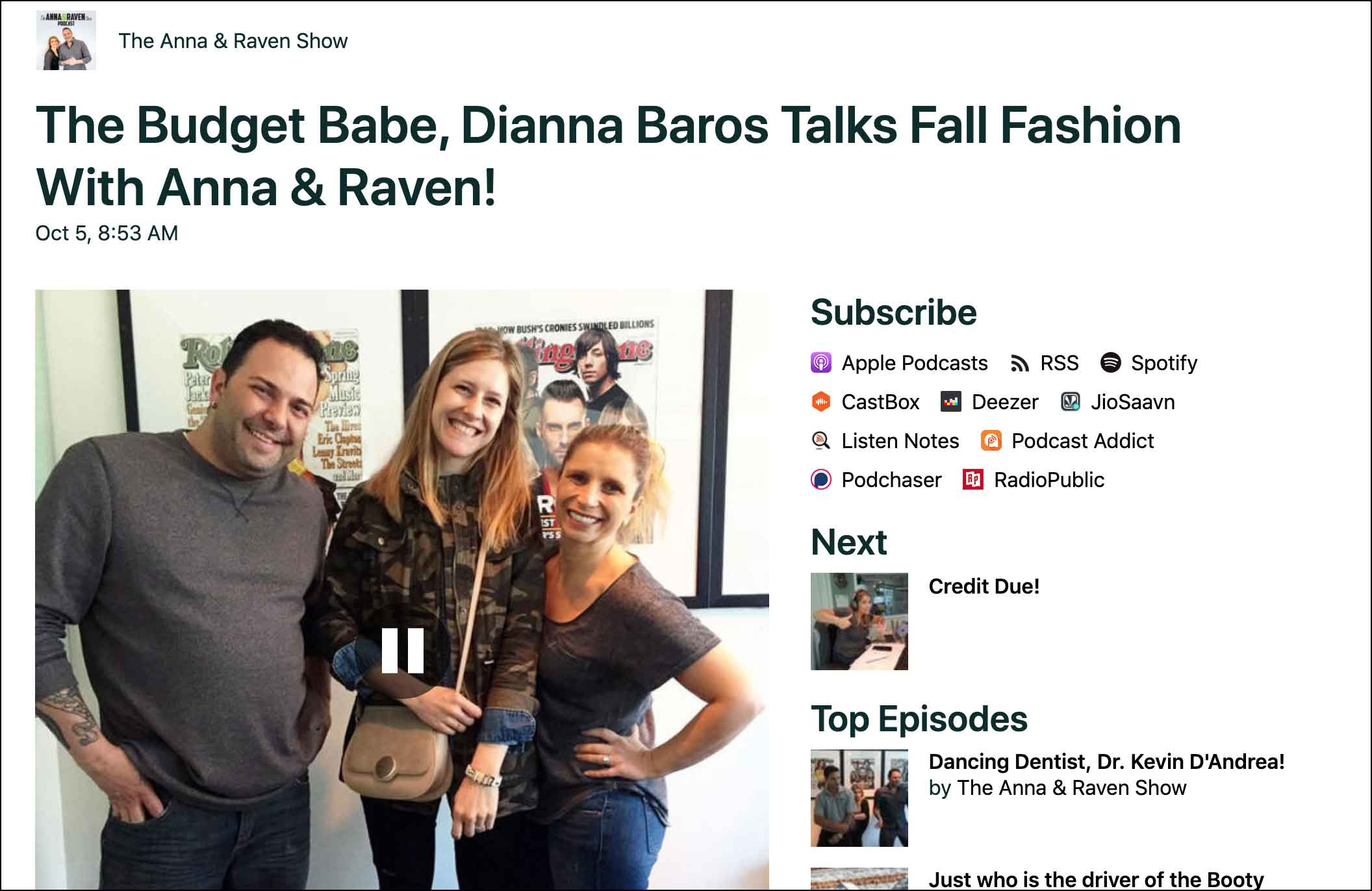 Fall Fashion Must-Haves for 2020 with Anna & Raven
