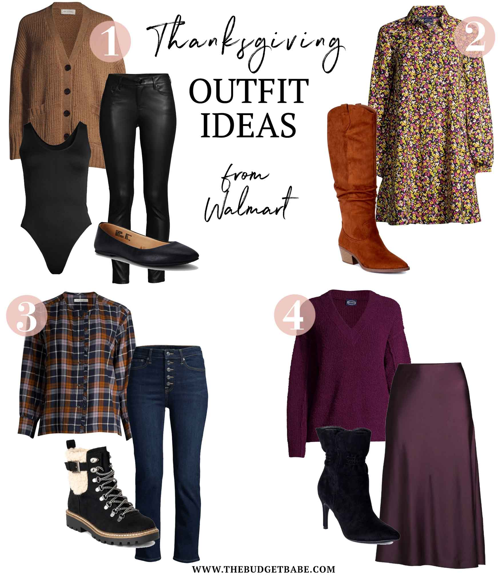 Thanksgiving Outfit Ideas from Walmart