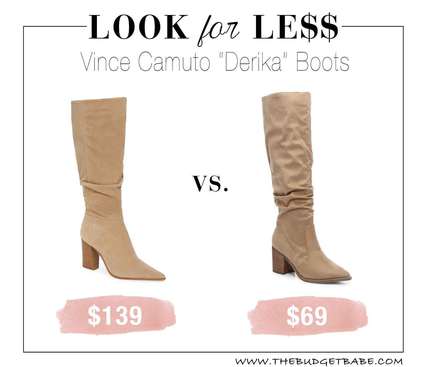 Wow this looks just like the Derika boots for half the price!