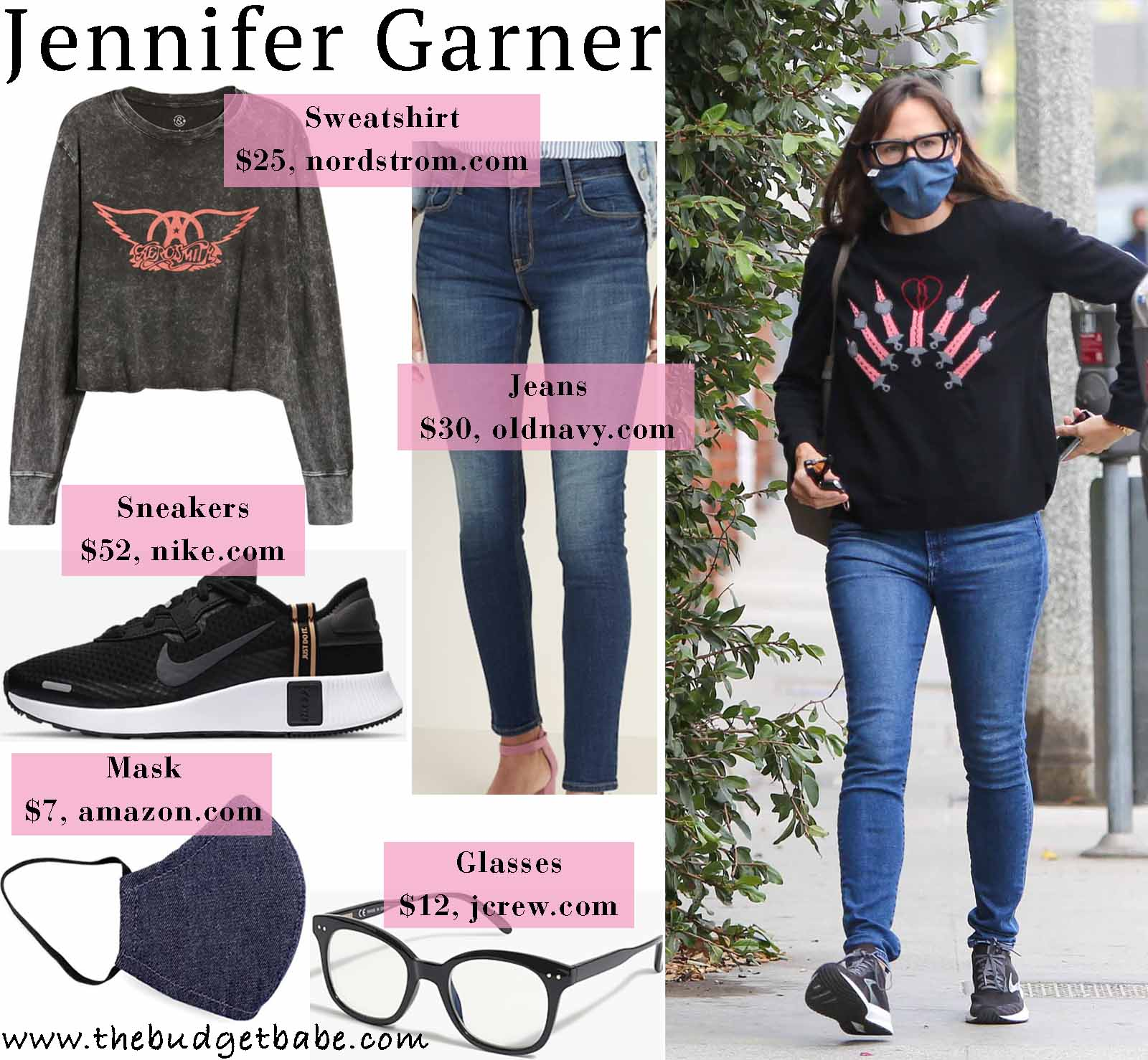 Jennifer Garner's casual holiday style!