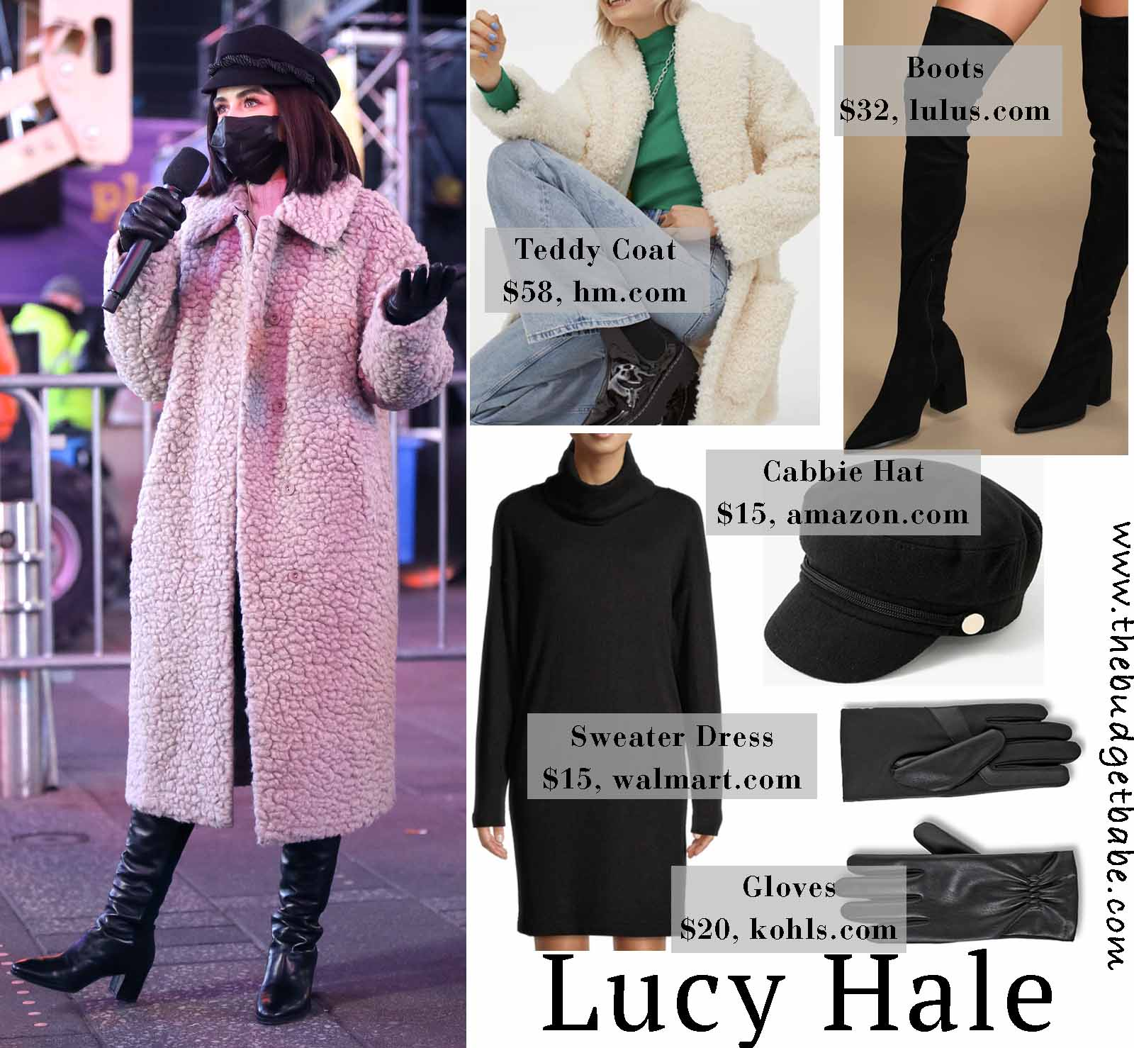 Lucy's outerwear looks so cozy!