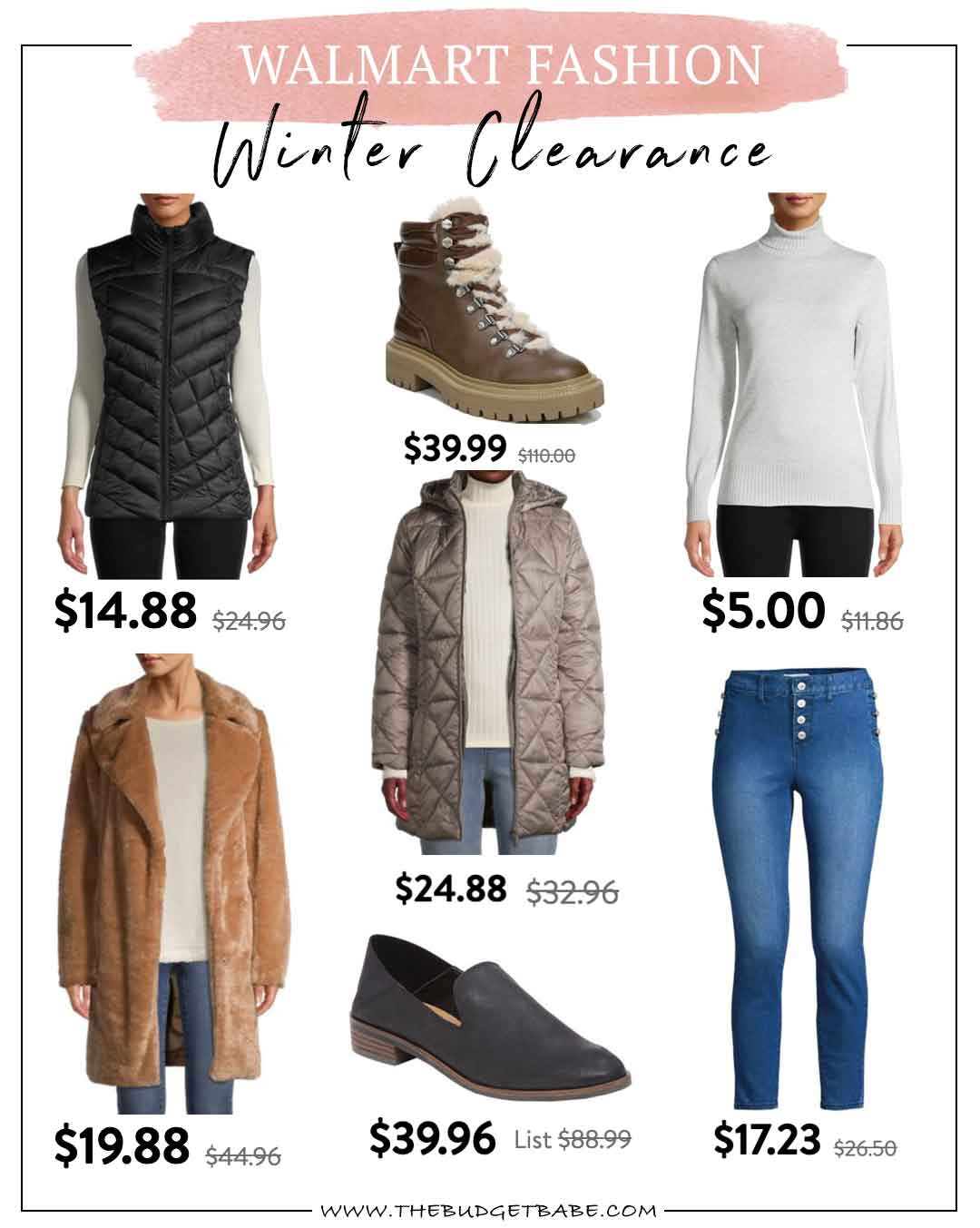 Walmart Fashion | Winter Clearance Finds!