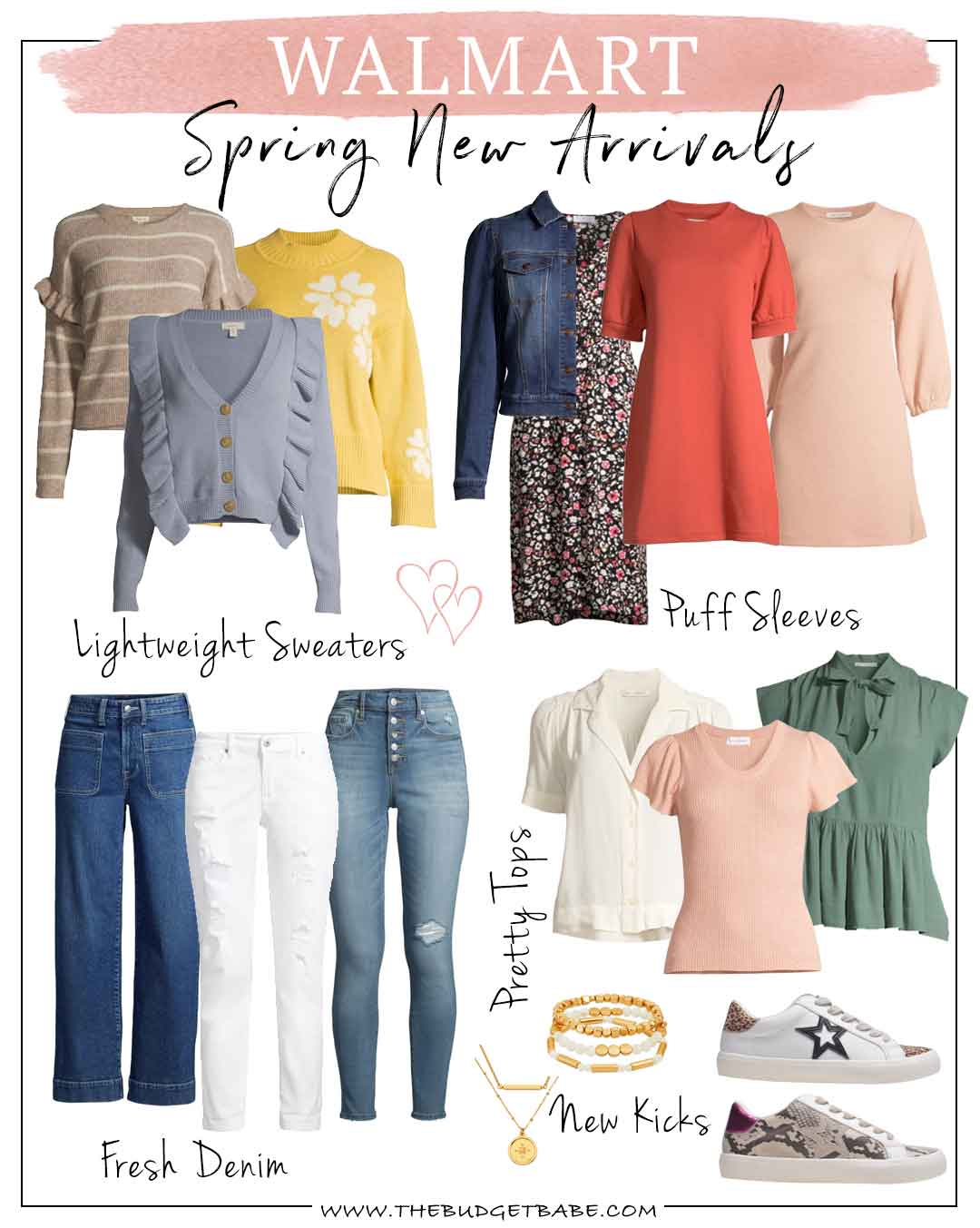Walmart New Spring Arrivals 2021 Trends and Affordable Style