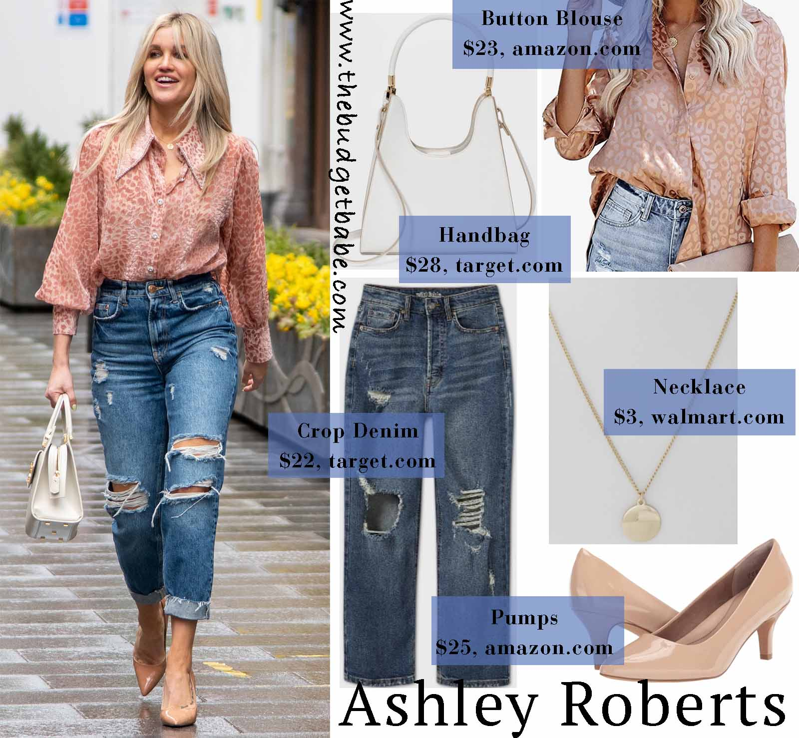 Ashley Roberts' blouse is the cutest!