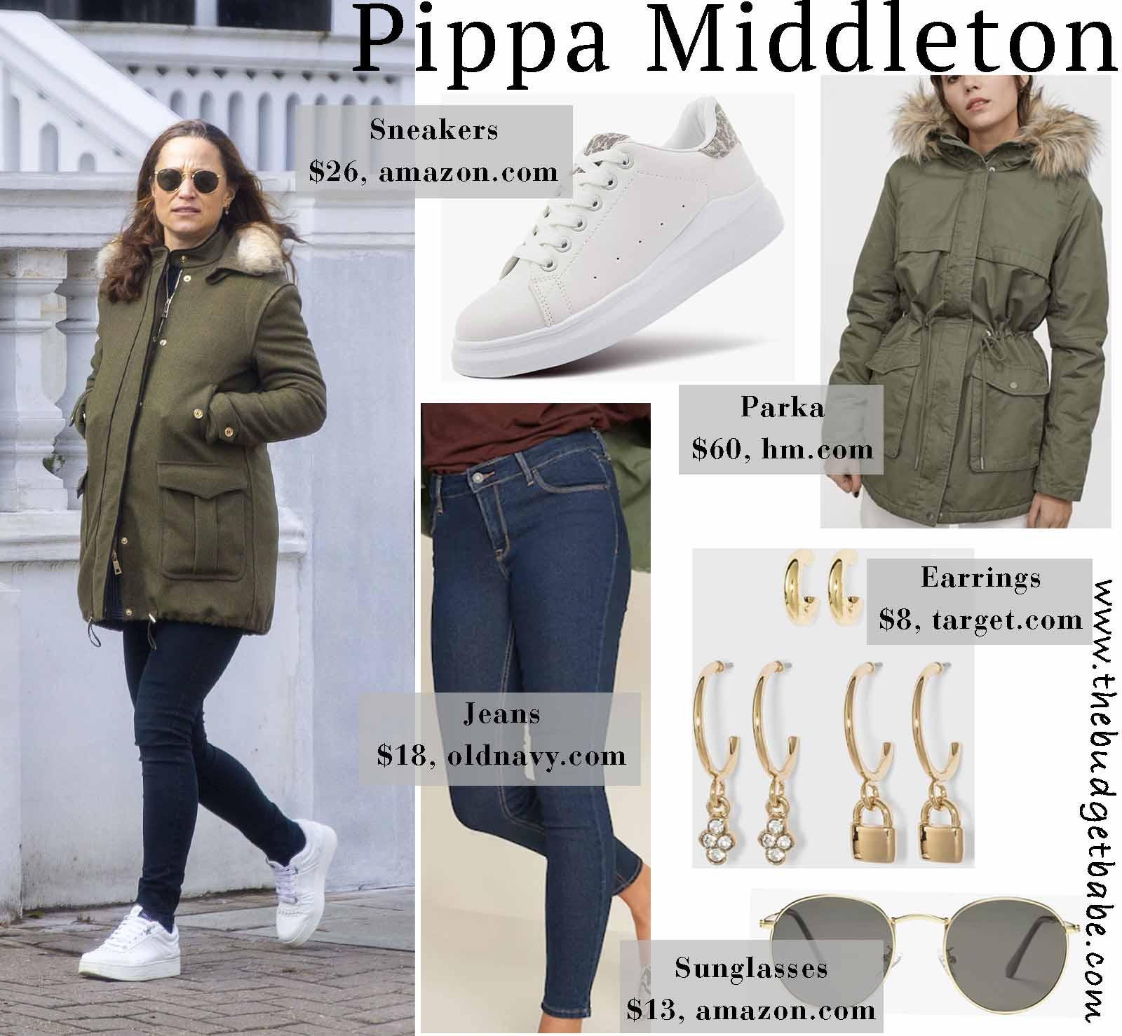 Love Pippa's parka!