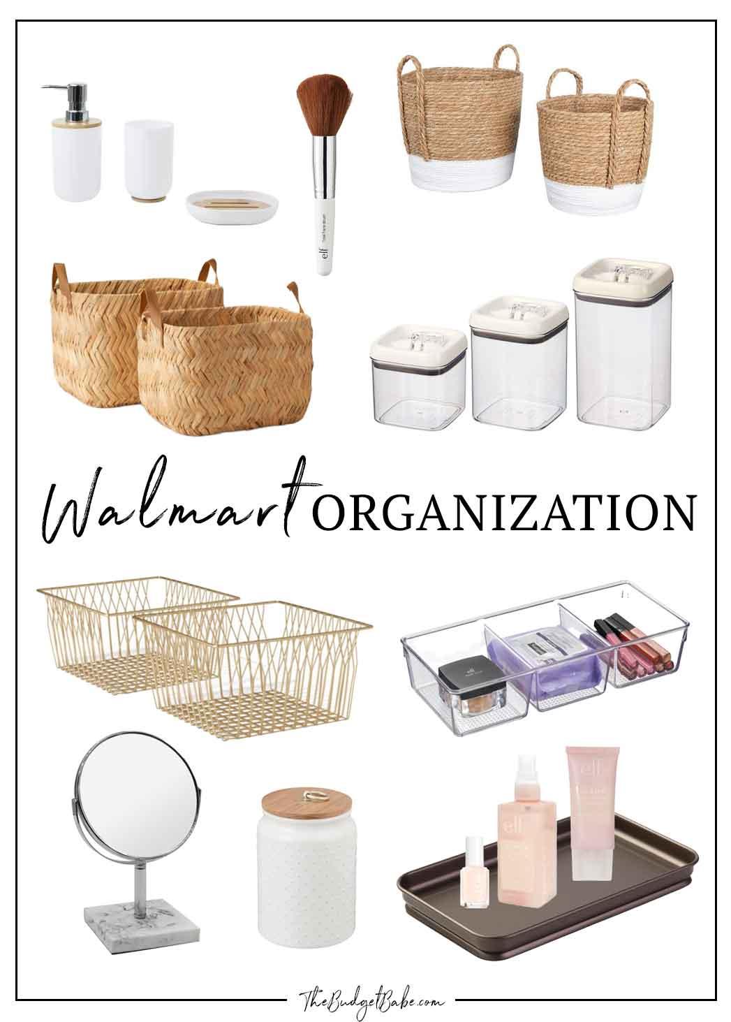 Walmart Organization Finds for Spring!