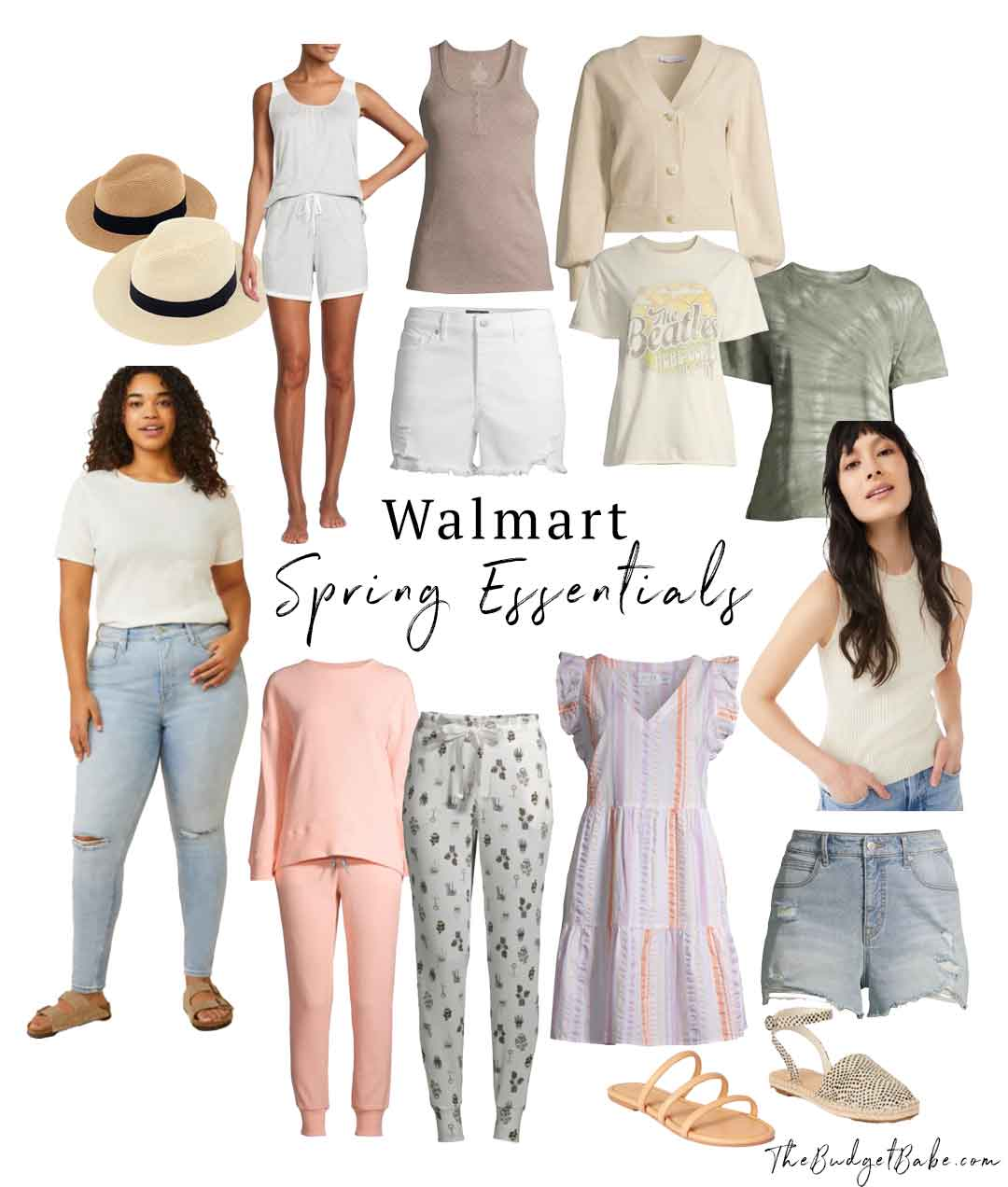 Walmart spring essentials, all the pieces you need under budget!
