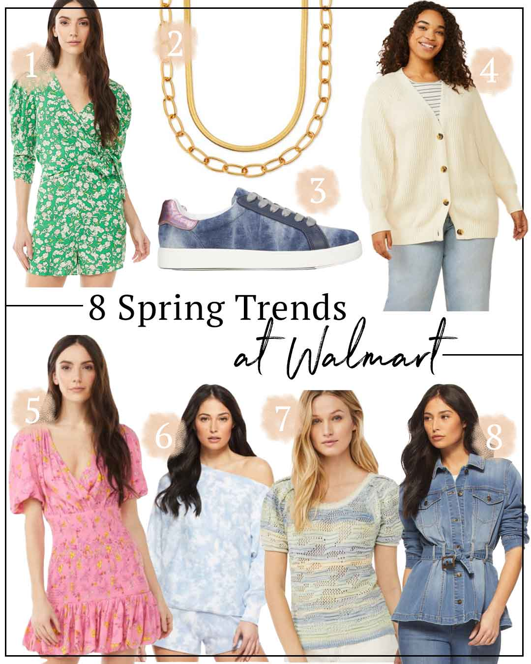 8 Spring Trends at Walmart | Fresh Florals, Totally Tie-Dye, Layered Jewelry and More