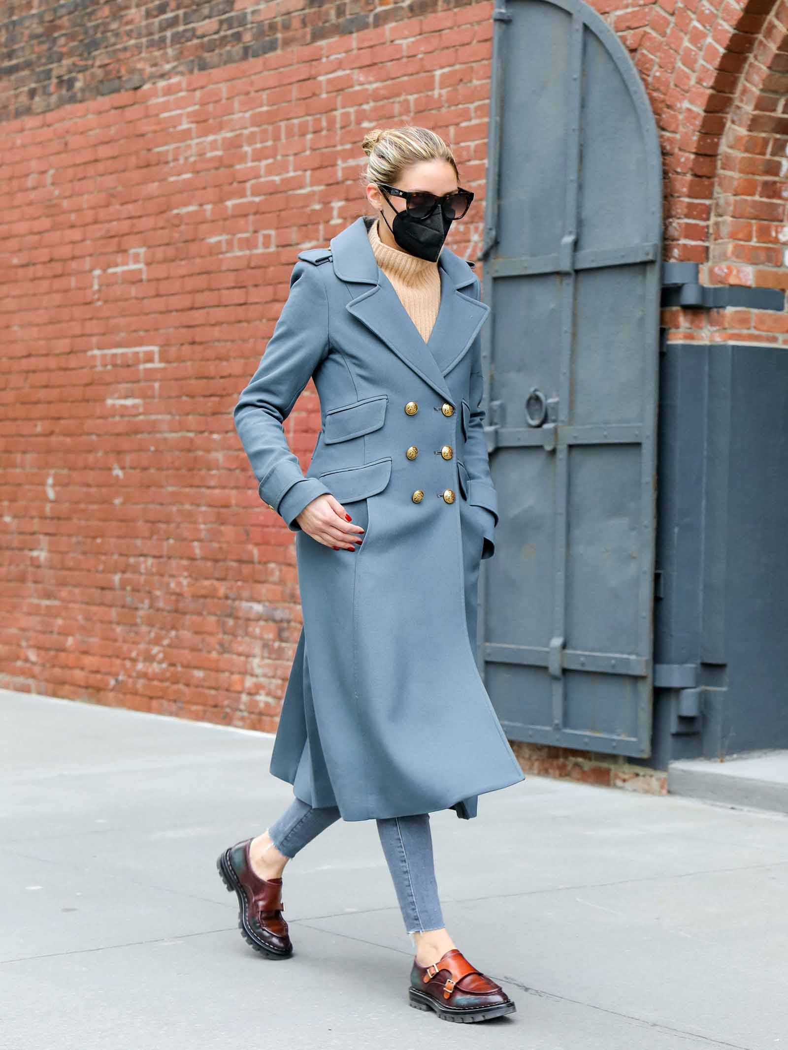Olivia's Palermo's style is timeless!