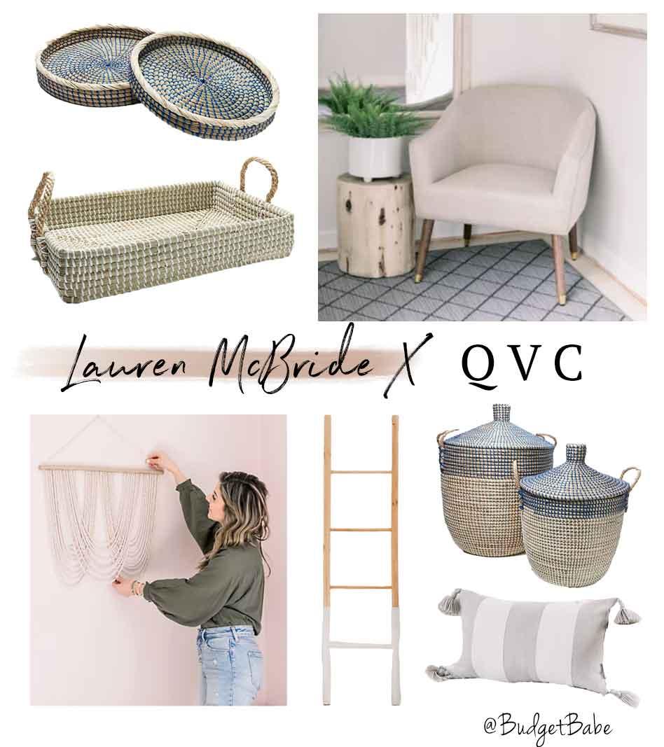 Lauren McBride x QVC spring collection 2021