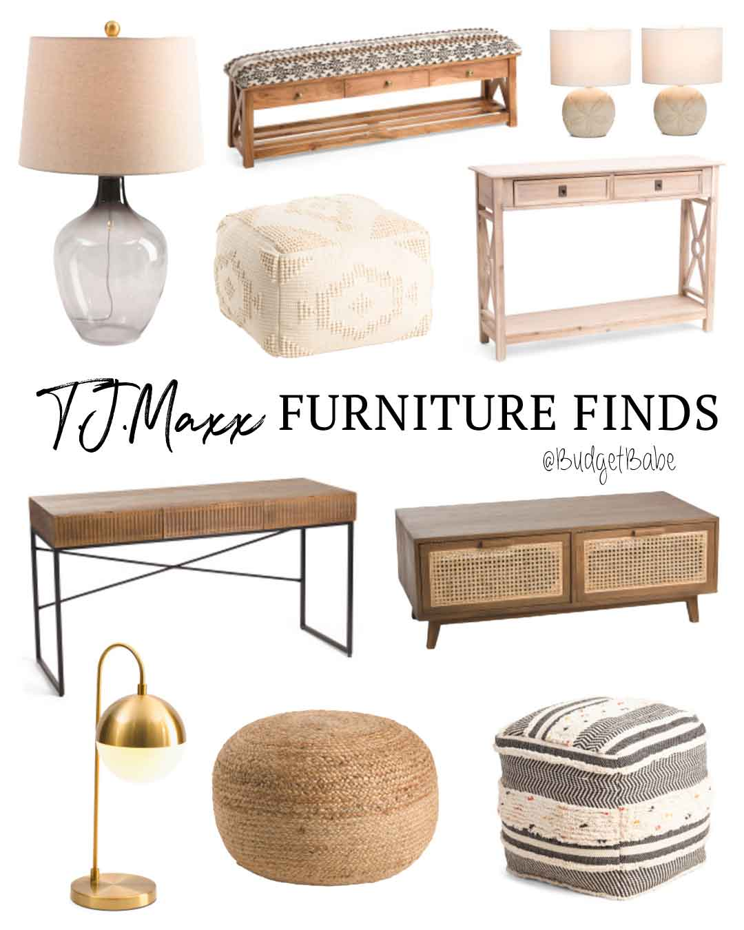 T.J.Maxx Furniture Finds