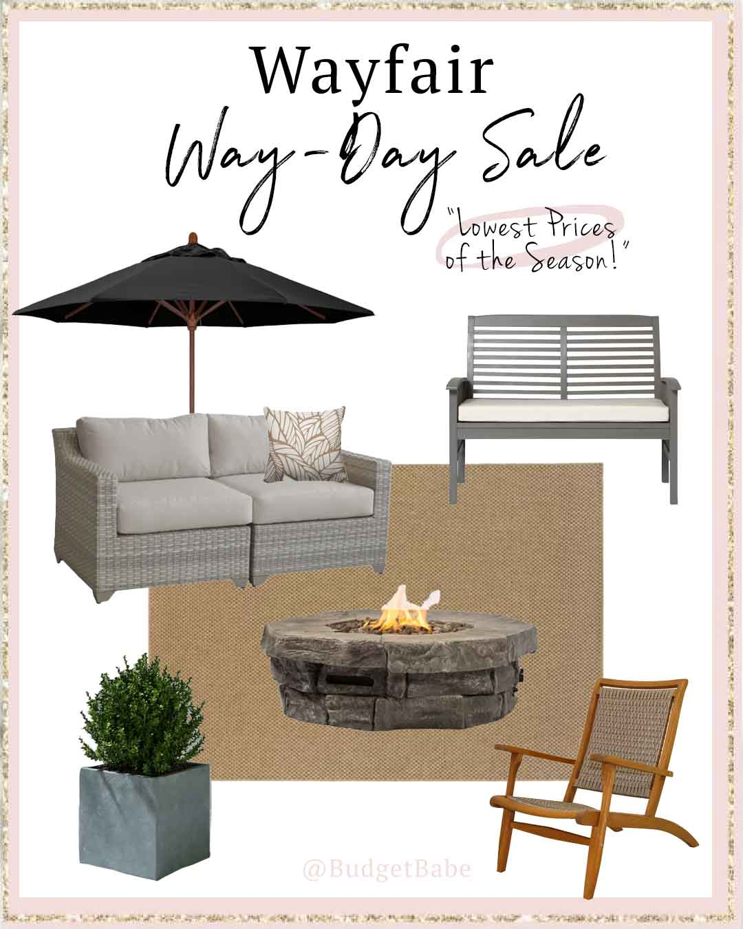Wayfair's lowest prices of the season! Today only!