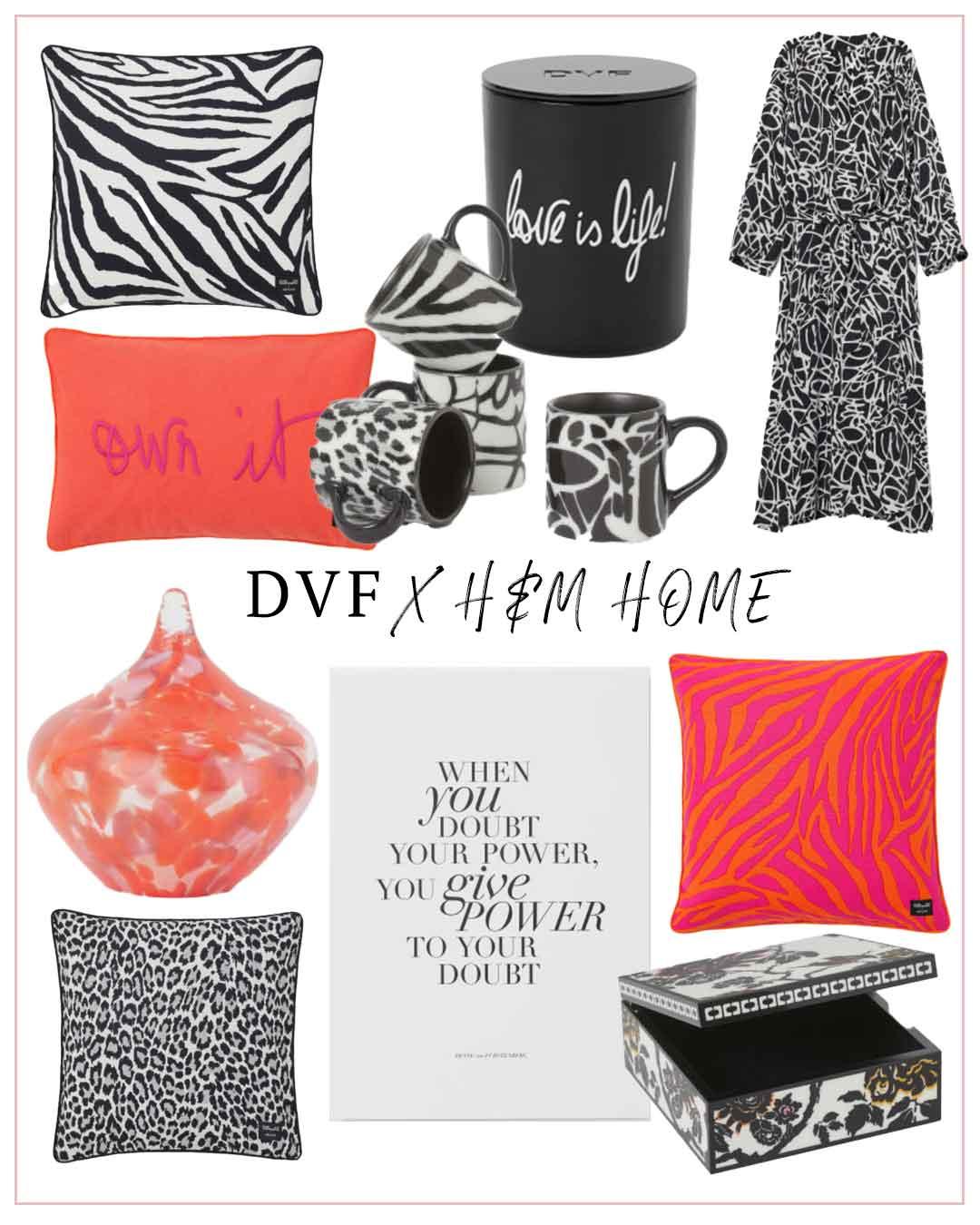 DVF x H&M Home