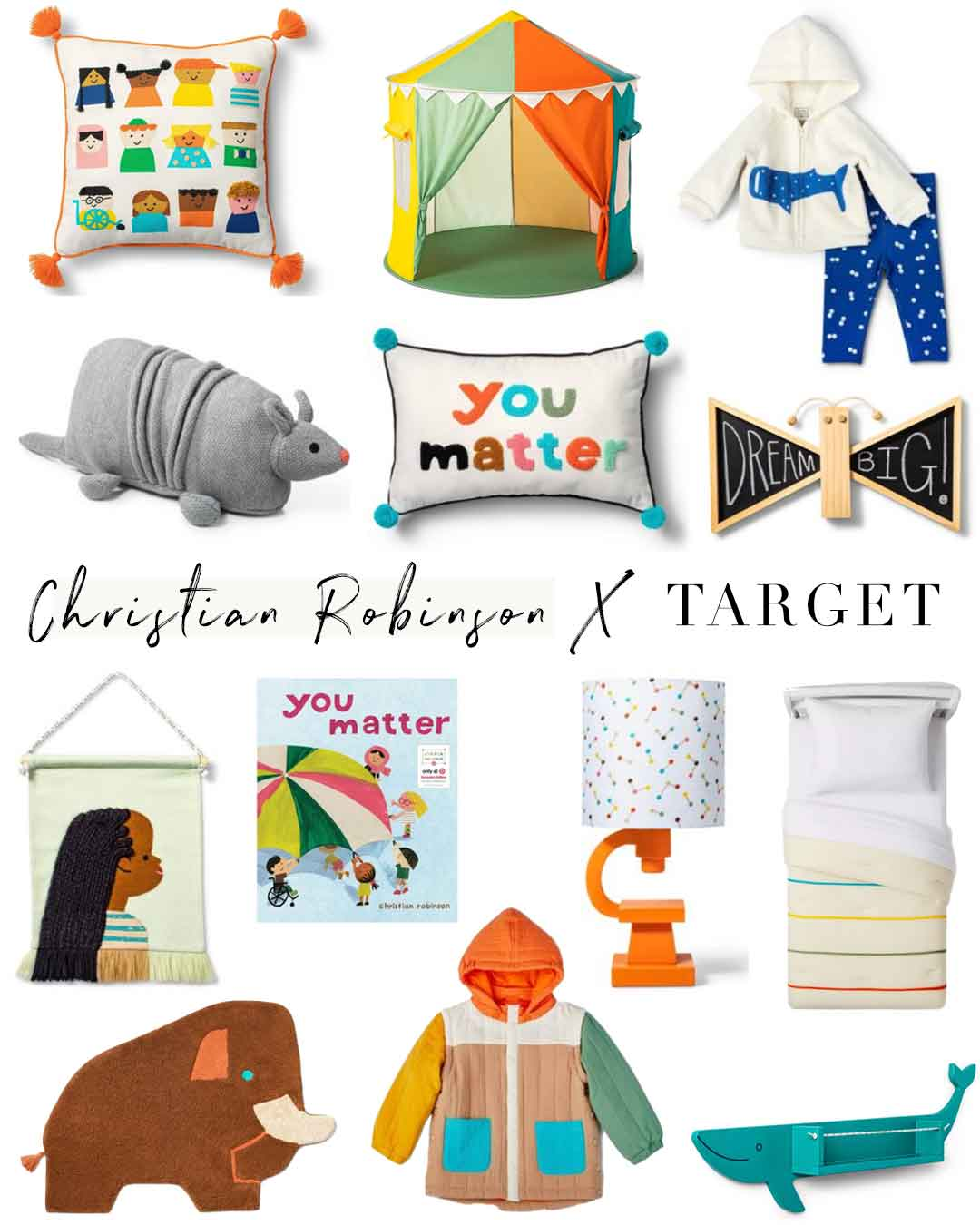 Christian Robinson x Target coming August 15th!