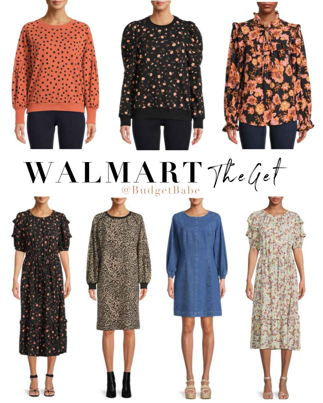 Walmart's new fashion brand TheGet is boho goodness under $40!