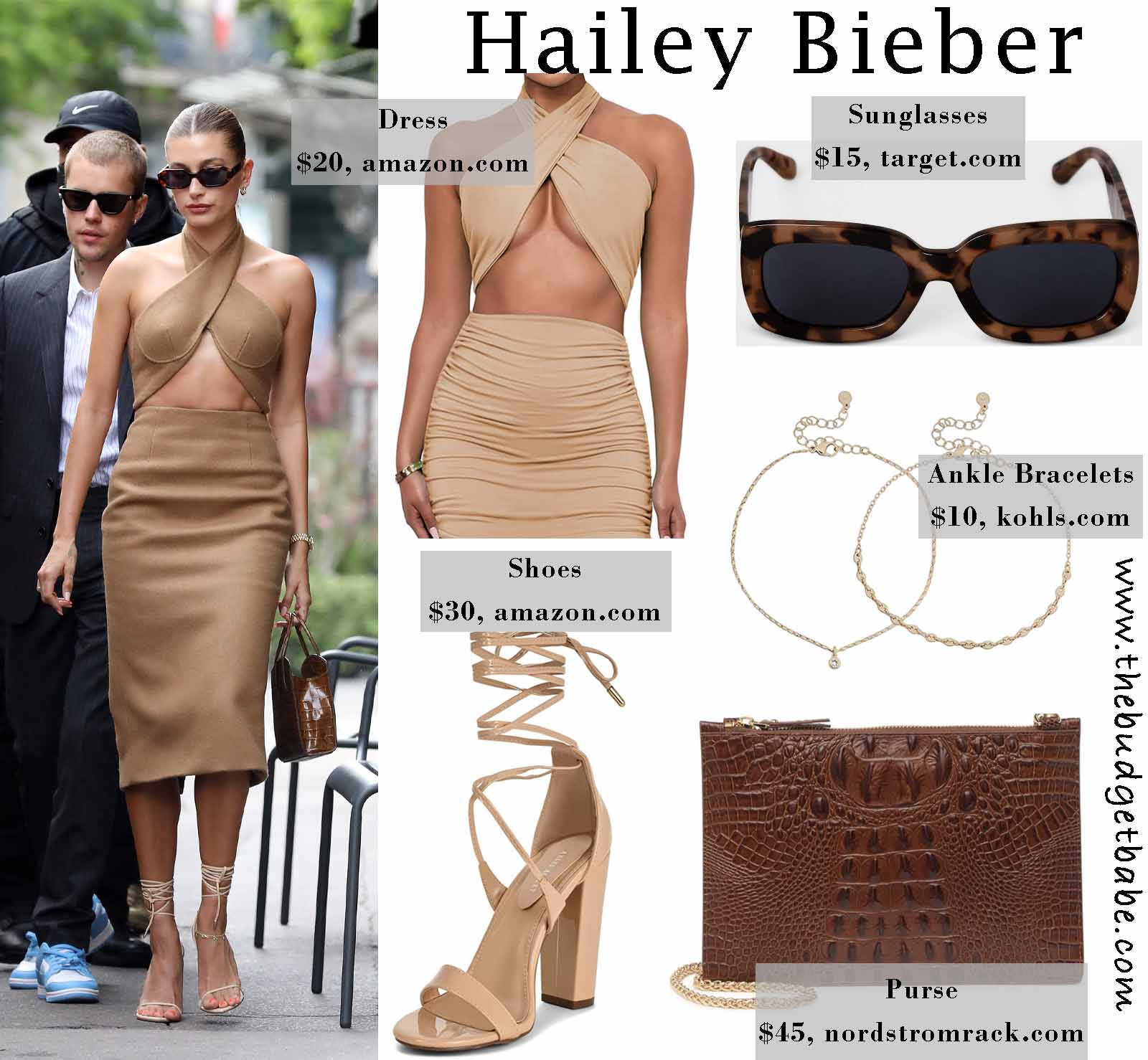 Hailey's edgy  chic!