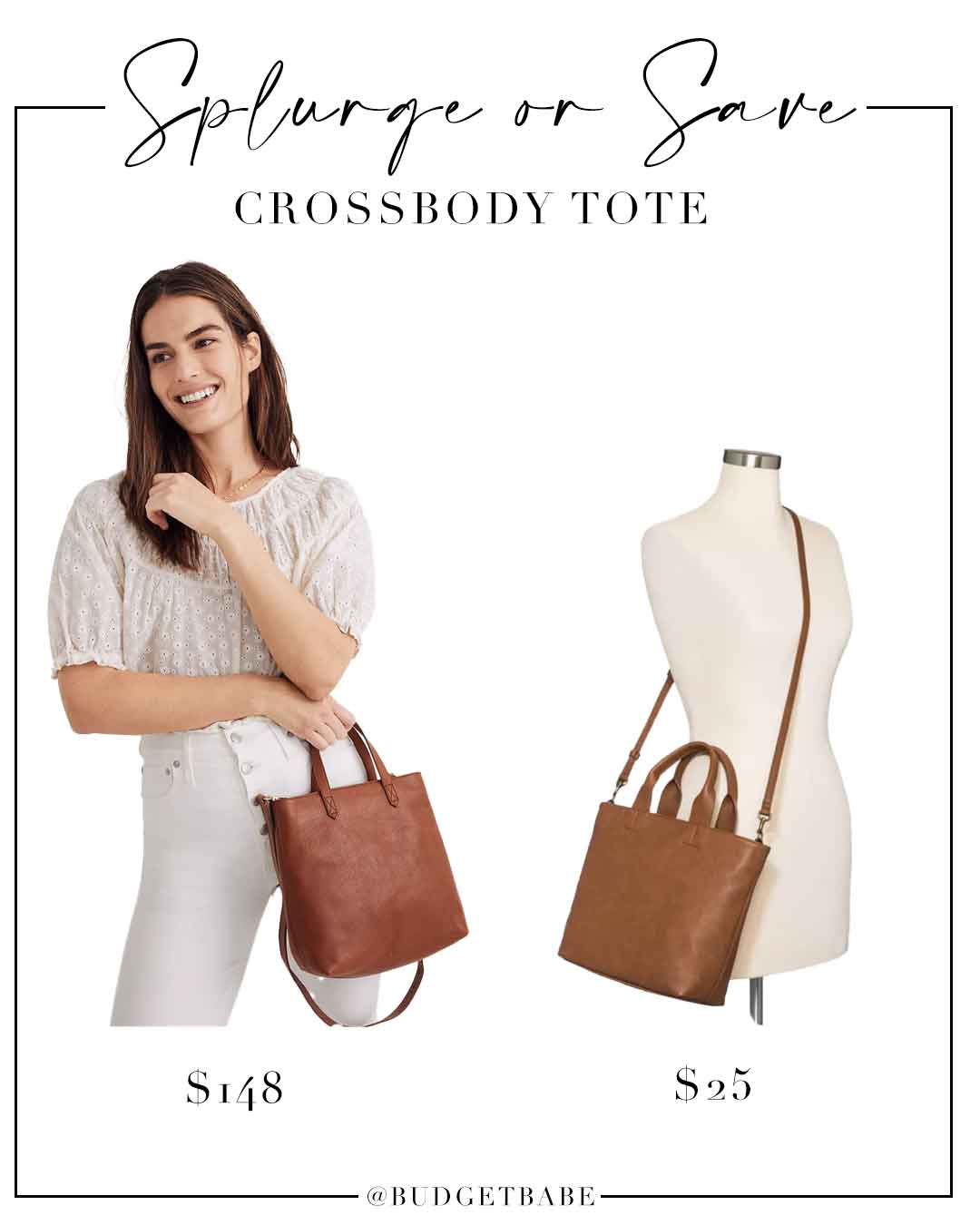 Splurge or Save on this Madewell leather tote