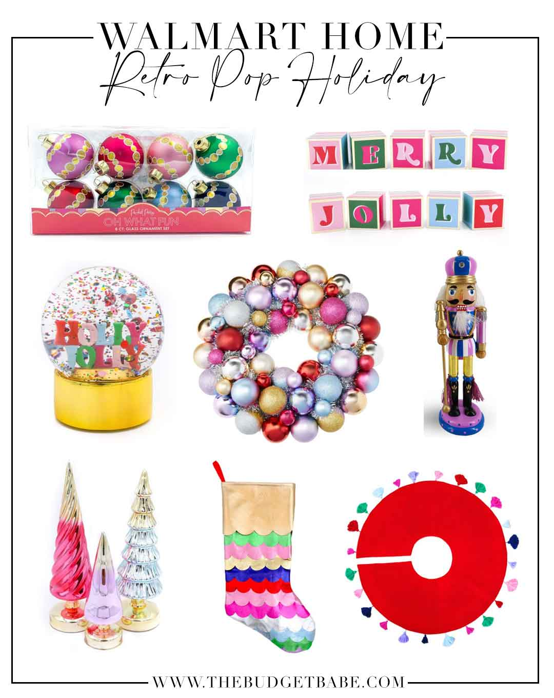 Walmart Home Decor Finds are fun and colorful this season!