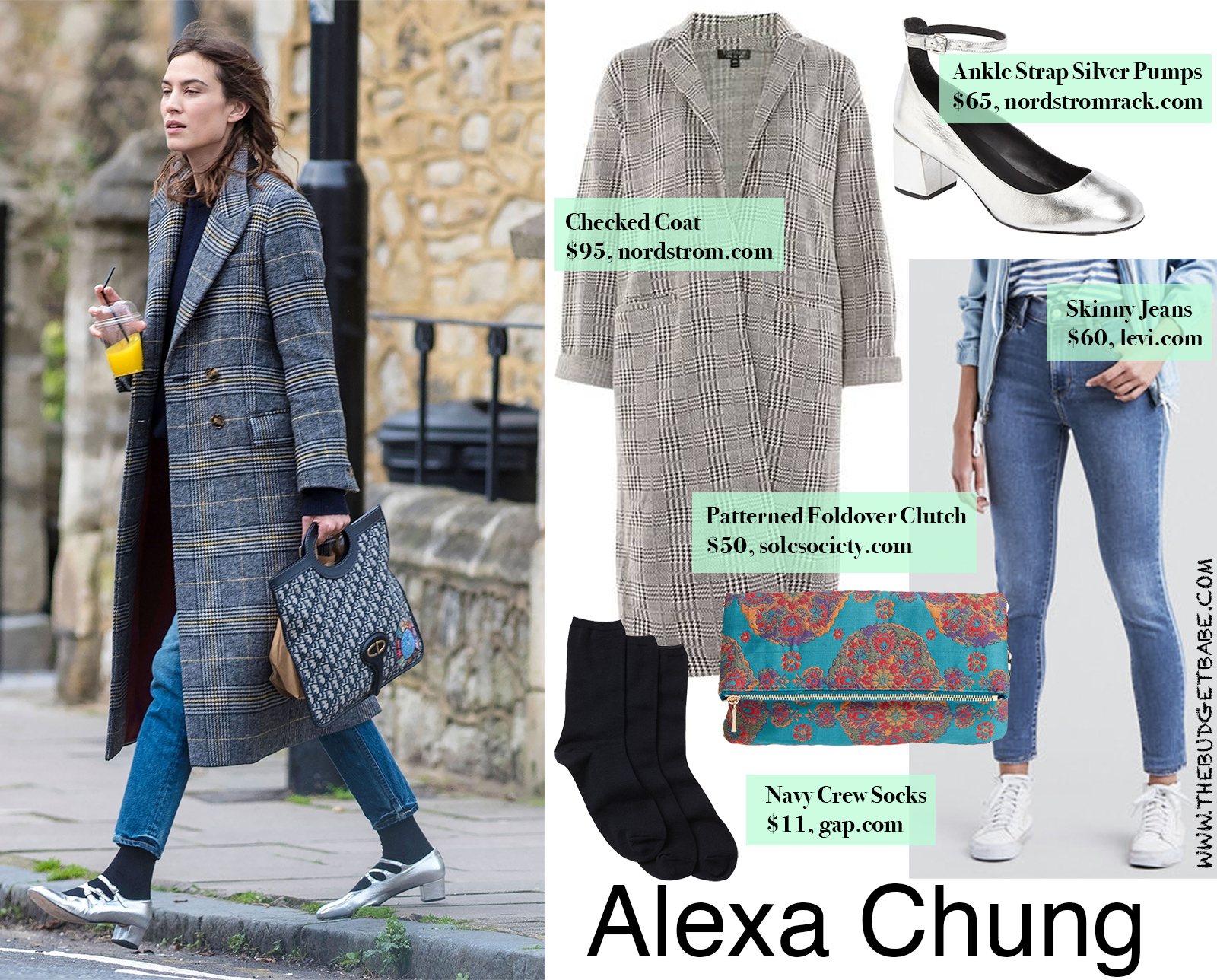 Alexa Chung Look for Less
