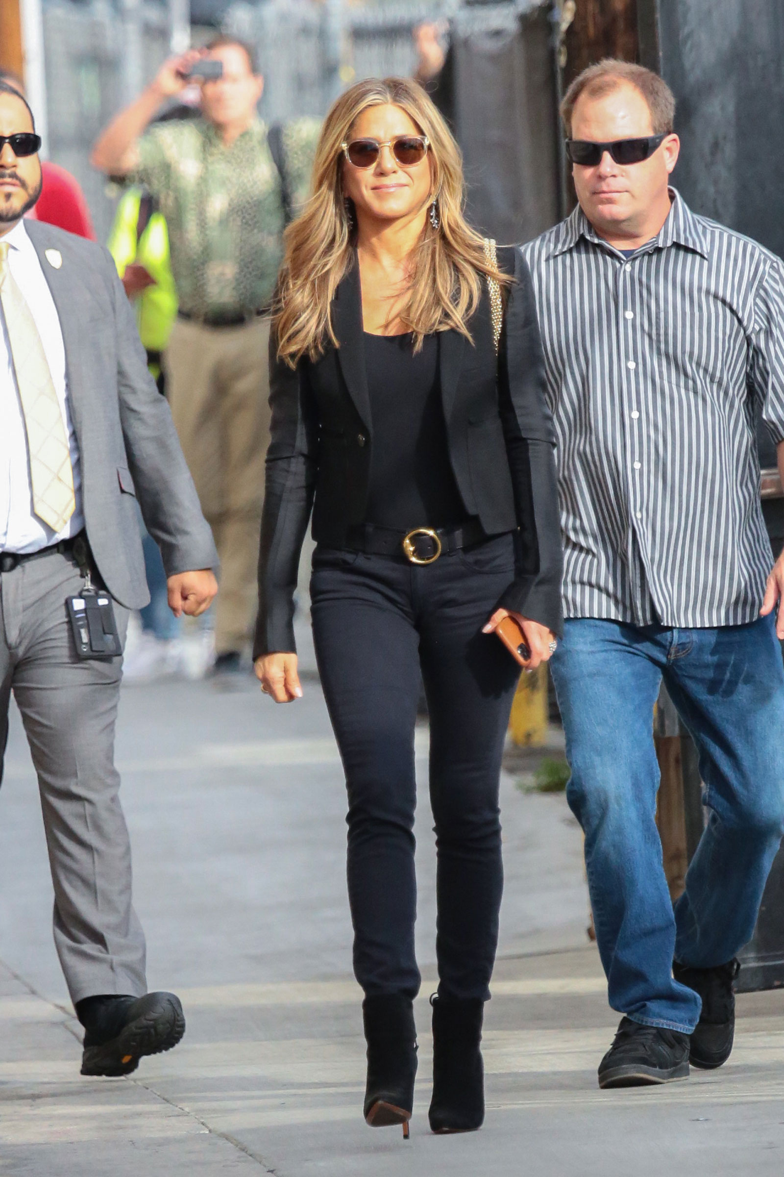 Jennifer Aniston All Black Outfit
