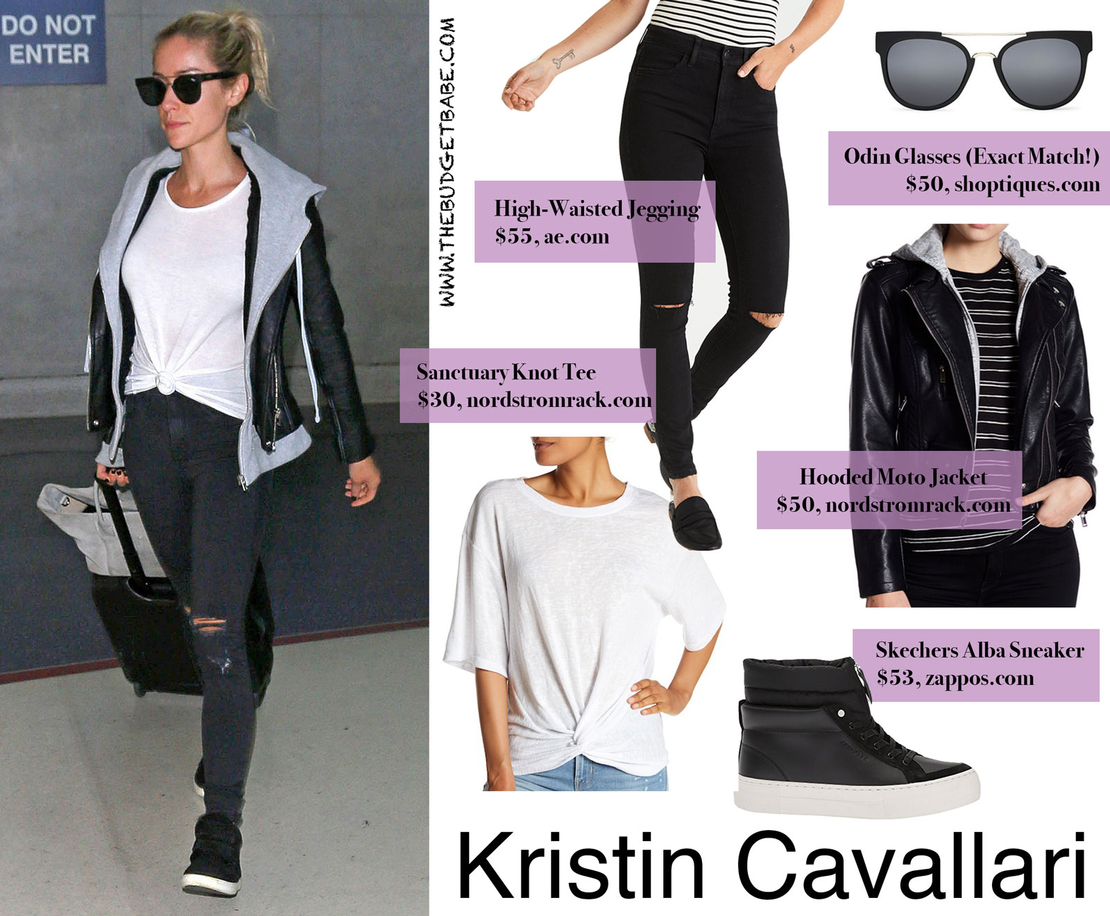 Kristin Cavallari Airport Style Look for Less