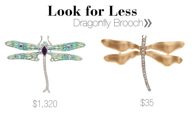 Dragonfly Brooch Look for Less