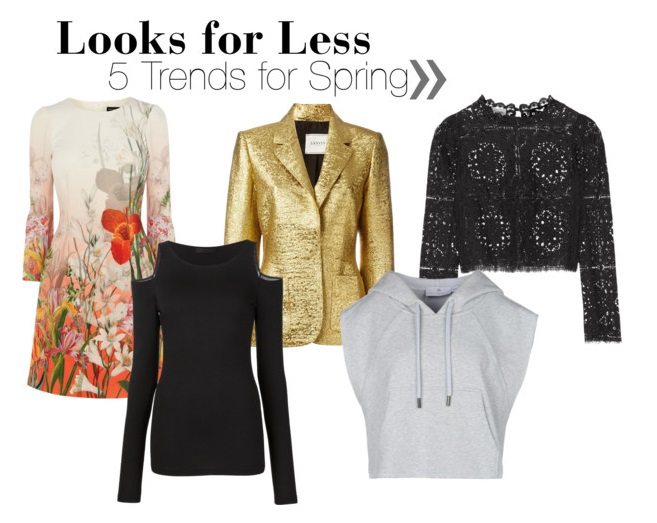 Looks for Less: 5 Spring Trends