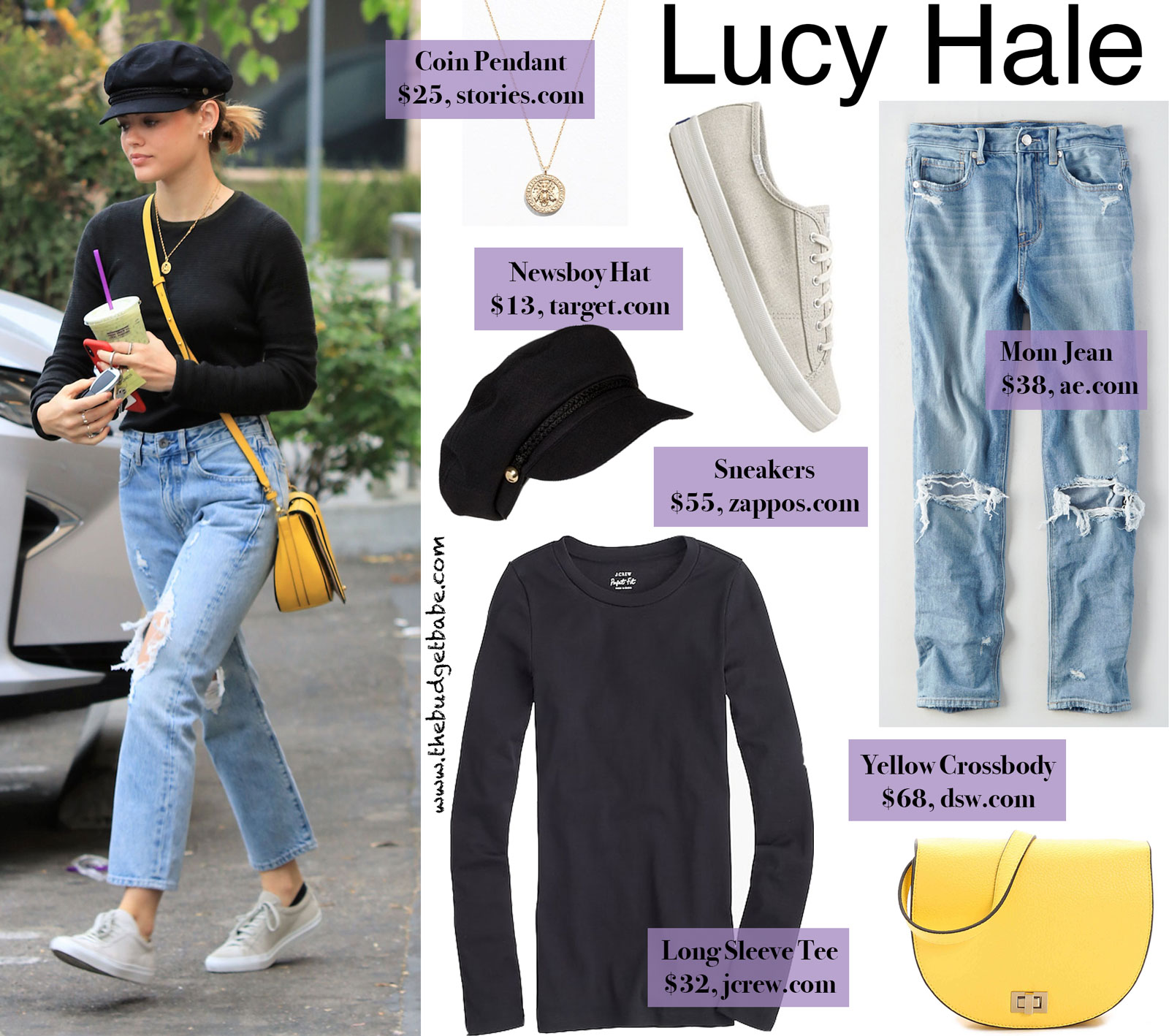 Lucy Hale Louise et Cie Bag Look for Less