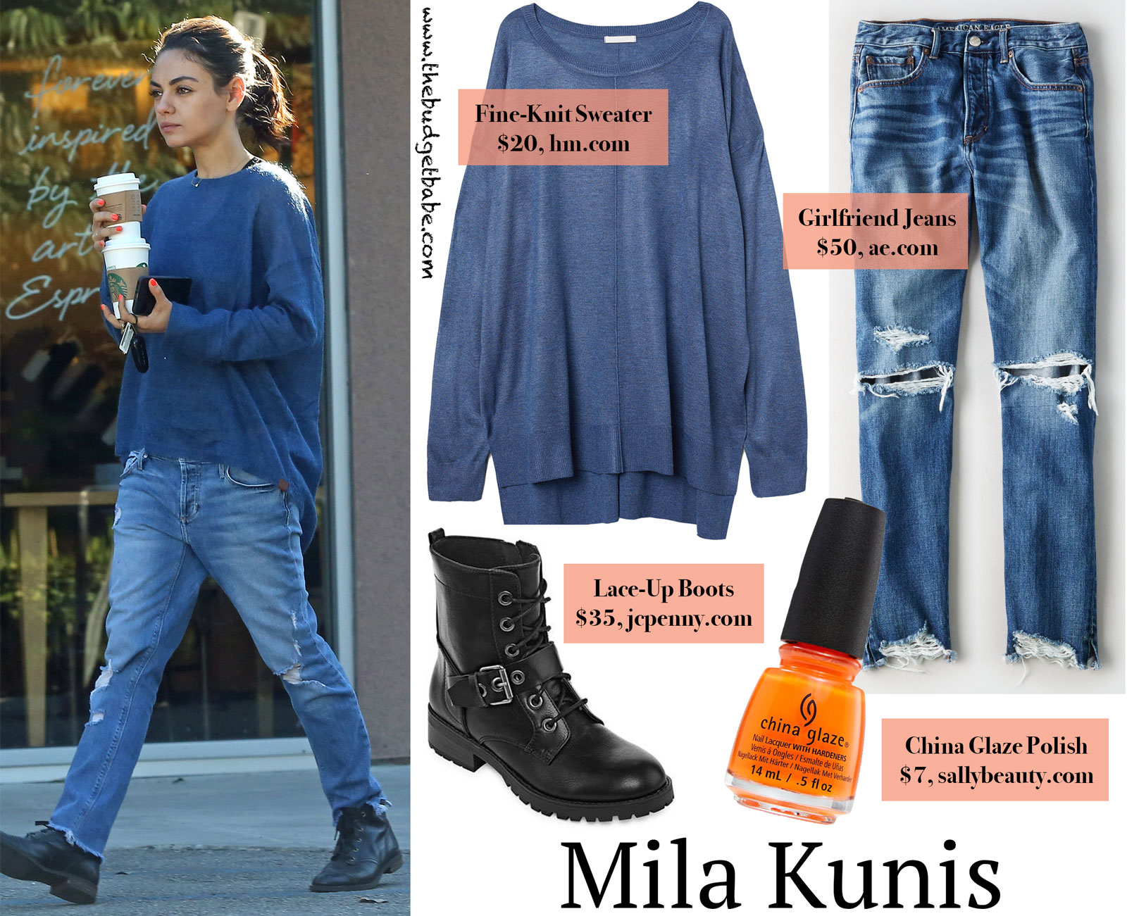 Mila Kunis One Teapsoon Jumper Look for Less