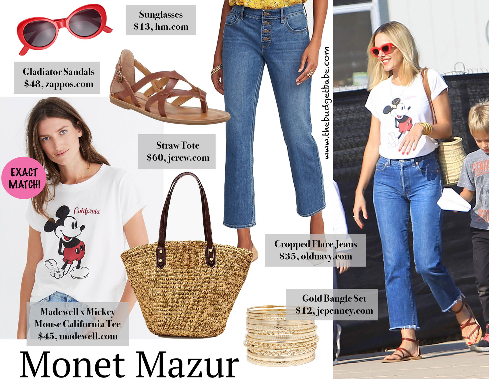 Money Mazur Madewell Mickey Mouse Tee Look for Less