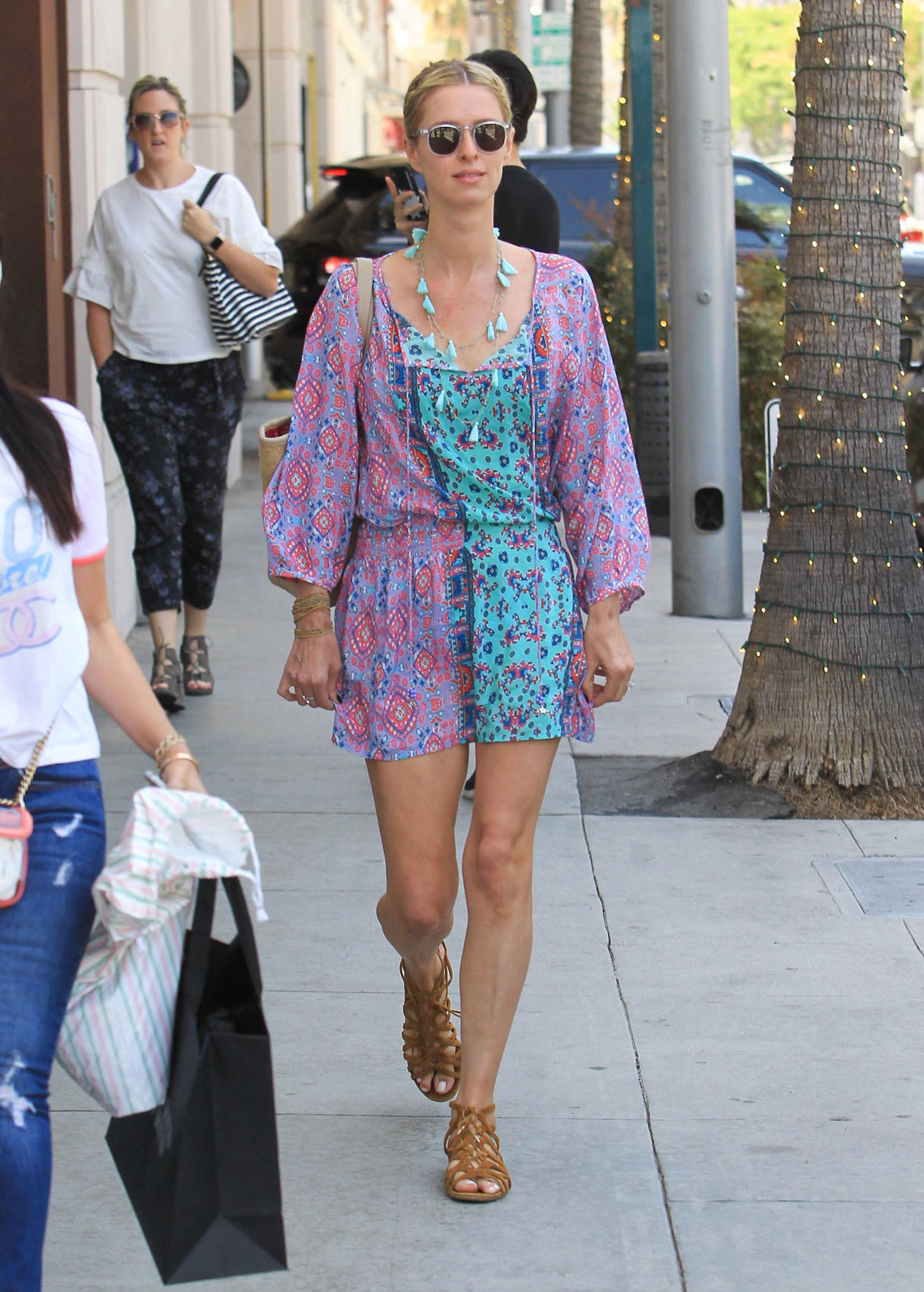 Nicky Hilton Bright Printed Romper