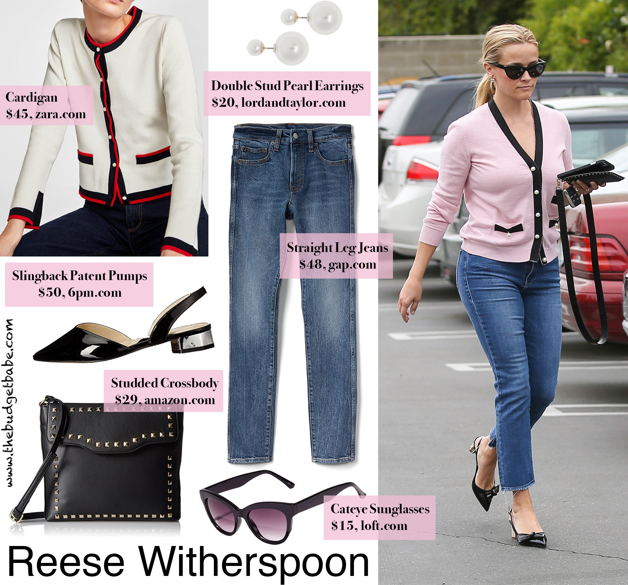bfab3211a3 Reese Witherspoon Barneys Cardigan Look for Less