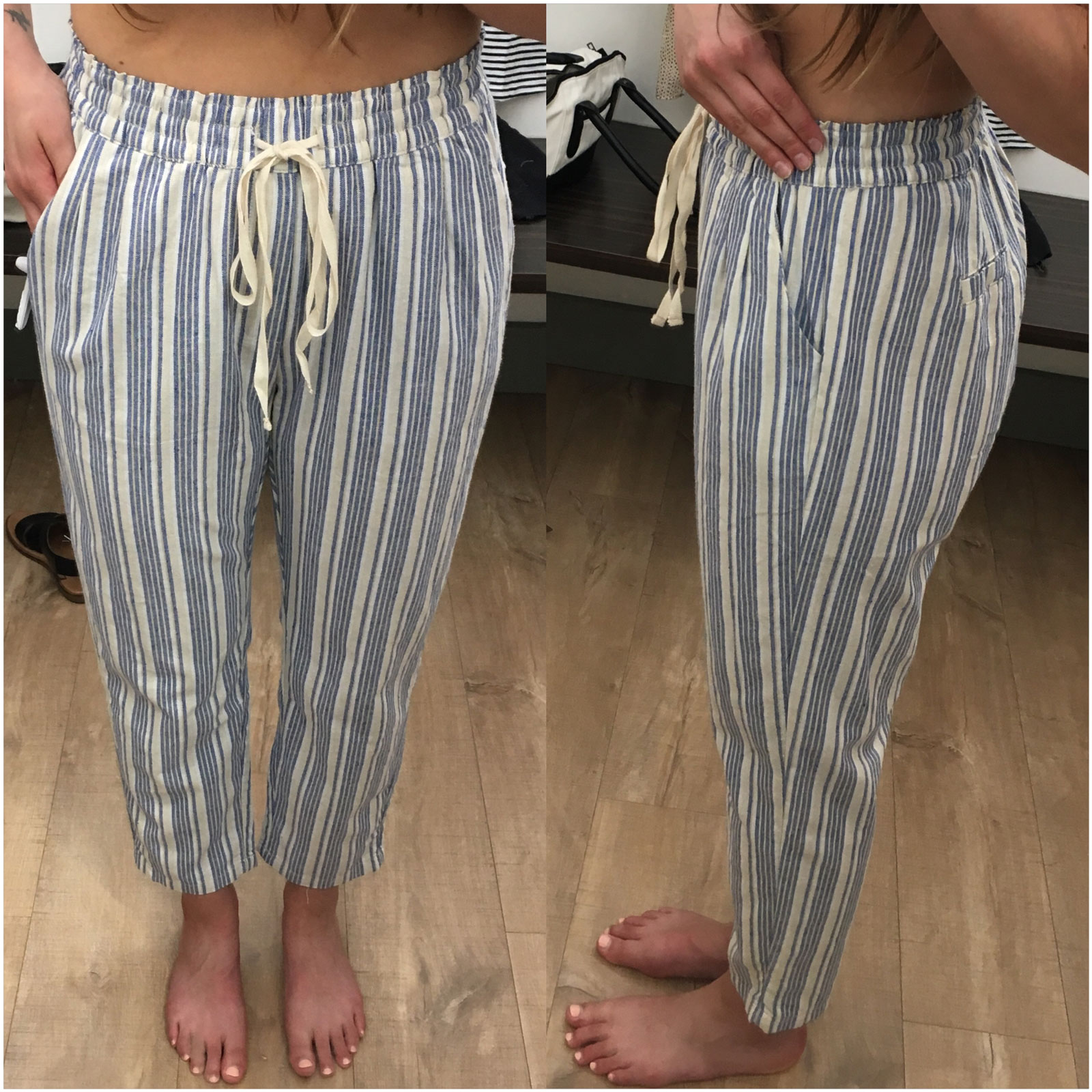 Hope Ave. Stripe Pants
