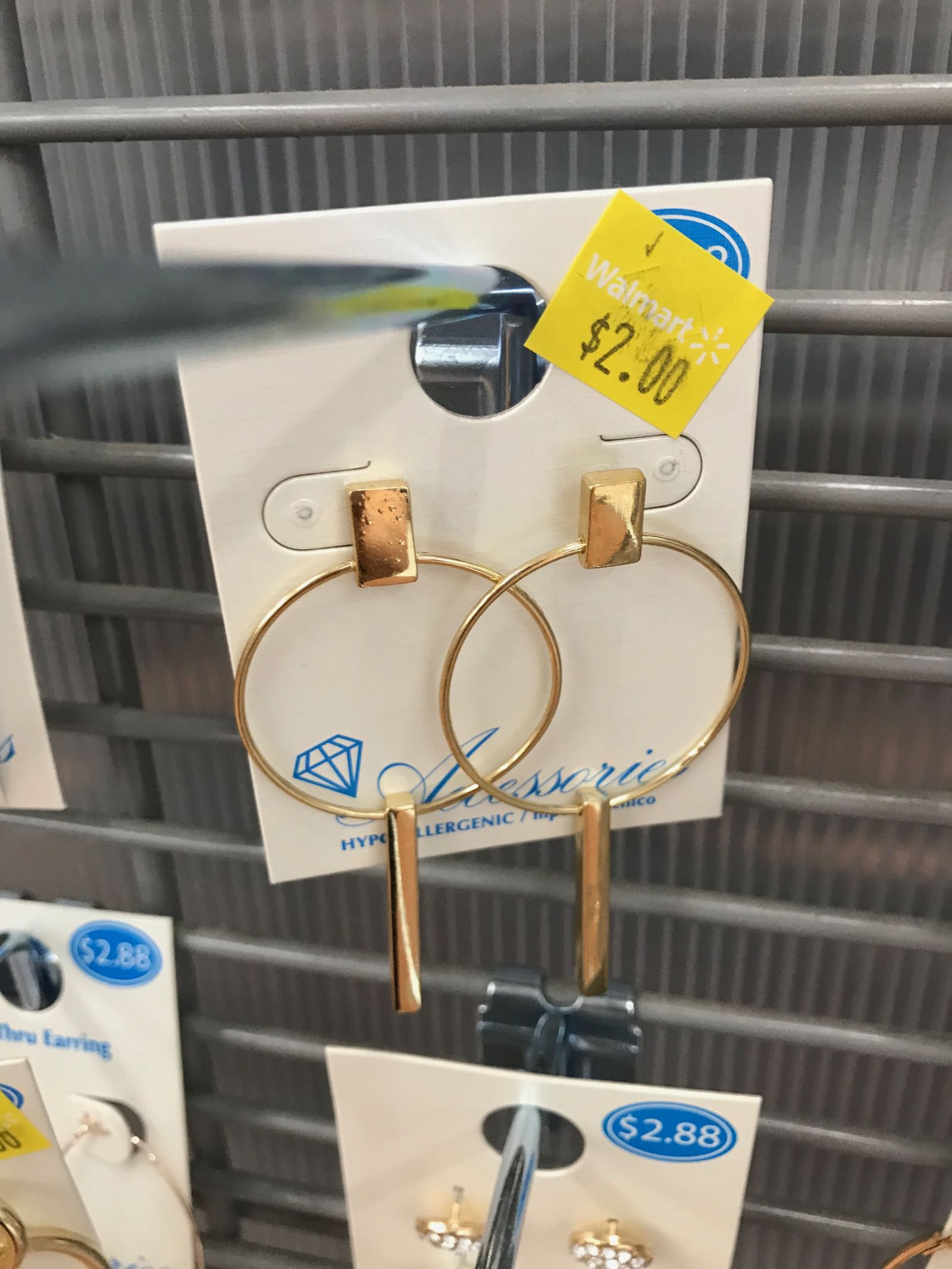 Walmart has the cutest jewelry under $5! Looks like J.Crew